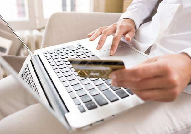 debit and prepaid program manager using card for online shopping